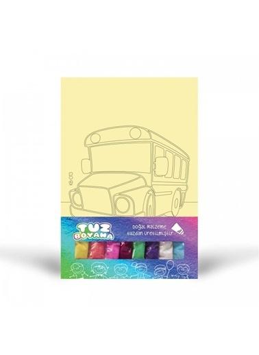 Artikel Otobüs-1 Tuz Boyama Renkli